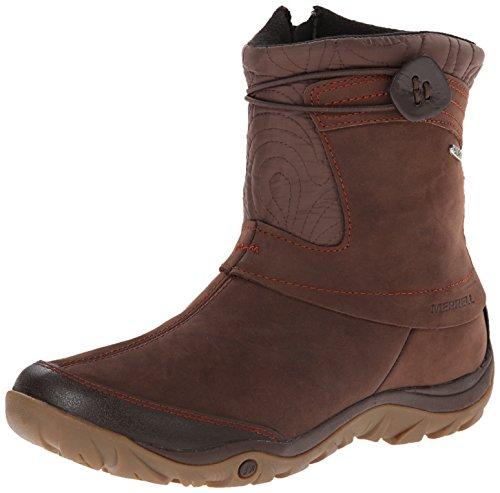 merrell s dewbrook zip waterproof winter boot