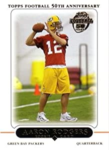 2005 Topps Green Bay Packers 12 Card Team Set with Aaron Rodgers Rookie by Topps