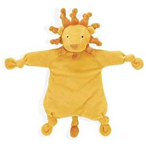 """North American Bear 12"""" Velveteenie Circus Knotted Baby Cozie Plush, Lion (Discontinued by Manufacturer)"""