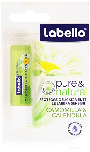 Labello - Pure & Natural, Camomilla & Calendula - 4.8 g