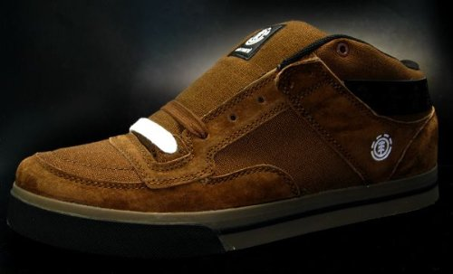 ELEMENT Skaterschuhe Griggs Braun US9