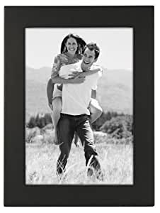 Malden Linear Black Picture Frame, 5 inches by 7 inches