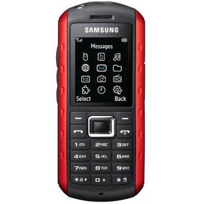 Unlocked Samsung Xplorer B2100 Solid Extreme Anti-Shock Waterproof Quad-Band Phone Red -International version with Embedded Flashlight