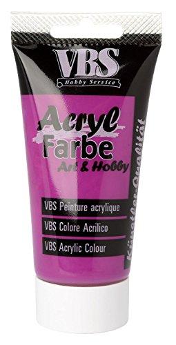 acrylfarbe vbs 75 ml mangan violett. Black Bedroom Furniture Sets. Home Design Ideas