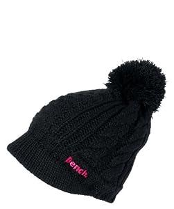Bench Damen Mütze Drift, black, one size, BLWA0343_BK001