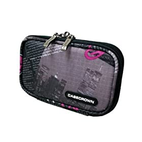 CaseCrown Double Memory Foam Case (News) to Carry the Flip Ultra Camcorder 2nd Generation, 120 Minutes (Pink)