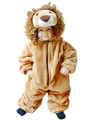 Fantasy World Girl's F57 Lion Costume (9 Months-2t)
