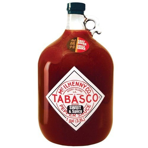 Tabasco Pepper Sauce, Sweet and Spicy, 128 Ounce (Sweet And Spicy Tabasco Sauce compare prices)
