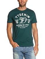 Tom tailor - t-shirt - imprimé - coton - homme