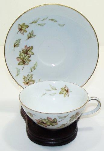 Vintage Norcrest Japan Autumn Fantasy Pattern Fine China Cup And Saucer Vintage Fine China Japan