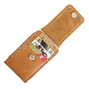 DooDa PU Leather Pouch Case Cover With Magnetic Closure For Lava Xolo Q800