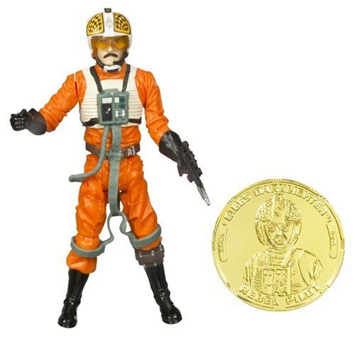 Star Wars 30th Anniversary BIGGS DARKLIGHTER with Collector Coin