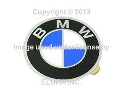4 X BMW Genuine Emblem - Wheel Center Cap (57 mm Diameter) for 528i 530i 733i 735i 630CSi 633CSi 635CSi 524td 2500 2800 2800Bav 3.0S 3.0SBav 3.0Si 3.0CS (A Si Cs compare prices)