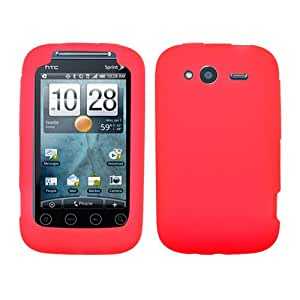 HTC A510e WildFire S, Marvel Soft Skin Case Red Skin T-Mobile (does not fit HTC 6225 Wildfire Bee)