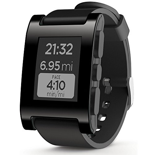 Pebble - Smartwatch para iPhone y Android (Color Negro)