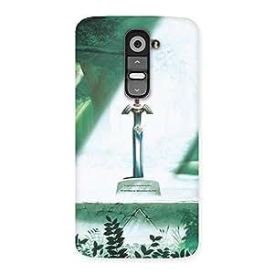 Ajay Enterprises powerfull sword Back Case Cover for LG G2