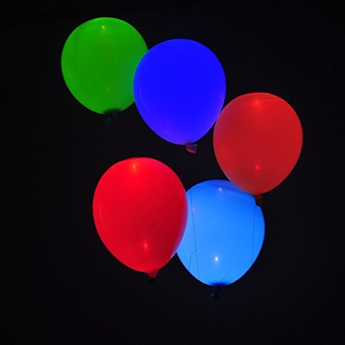 LED Balloons Mix color for Party,30PCS Colorful Luminous Party Balloon (Grown Up Party Themes)