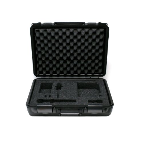 New Shure | Wa610, Hard Carrying Case For Shure Ulx 1/2 Rack Wireless System, Molded Plastic Exterior And Custom Cut Foam Interior