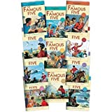 Enid Blyton Famous Five: 11 books - numbers 11 to 21 (Five Have a Wonderful Time / Five go Down to the Sea / five Go to Mystery Moor / five Have Plenty of Fun / Five On a Secret Trail / Five go To Billycock Hill / Five Get Into a Fix/ Five On Finniston F