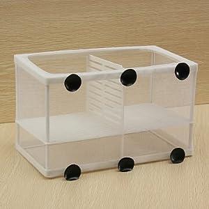 Dual Net Breeder Aquarium Fish Tank Breeding /Hatchery Kit