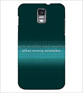 PrintDhaba Quote D-3282 Back Case Cover for SAMSUNG GALAXY S5 (Multi-Coloured)