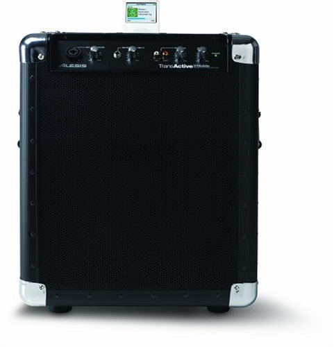 Alesis TransActive Mobile PA System  &  Portable Speaker for iPod