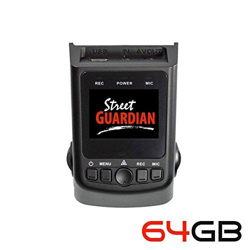 Street Guardian SG9665GC v2 2016 edition Supercapacitor Sony Exmor IMX322 WDR CMOS Sensor DashCam 1080P 30FPS + 64GB microSD card + USB/OTG Android Card Reader + GPS (Best Of - DashCamTalk)