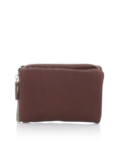 Chocolat Blu Women's Pouch, Brown Leather, One Size As You See