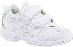 Stride Rite Cooper H&L Sneaker (Toddler/Little Kid/Big Kid),White,5.5 W US Big Kid