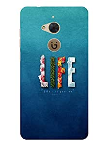 TREECASE Designer Printed Soft Silicone Back Case Cover For Gionee S6 Pro