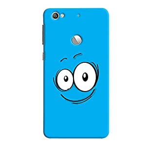 ColourCrust LeEco LE1S Mobile Phone Back Cover With Smiley Quirky - Durable Matte Finish Hard Plastic Slim Case