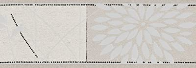 As Cration 6354-26 Borders Flowers White Silver And Black by A.S. Creation
