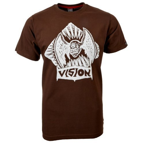 Vision Street Wear Flying Skull T-Shirt , carafe