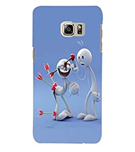 Colourcraft Valentine Zoozoo Love Back Case Cover For Samsung Galaxy S6 Edge Plus