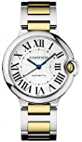 Cartier Ballon Bleu Unisex Steel and Gold Watch W6920047 from Cartier