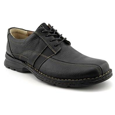 Clarks Men's Espace Black Oily Leather 7 M US