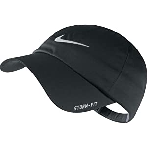 Nike Golf 2013 Men's Storm-Fit Dri-Fit Adjustable Rain Cap - Black