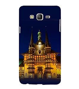 printtech Baymax Cute Hug Back Case Cover for Samsung Galaxy On7