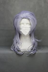 "26"" Wavy Silver Gray Cosplay Wig -- Final Fantasy Kuja"