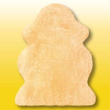 Parche De Australia Cordero en beige Talla aprox. 110x 75cm