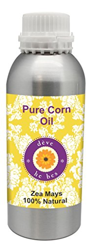 Pure Corn oil 300ml (Zea mays) 100% Natural Cold pressed