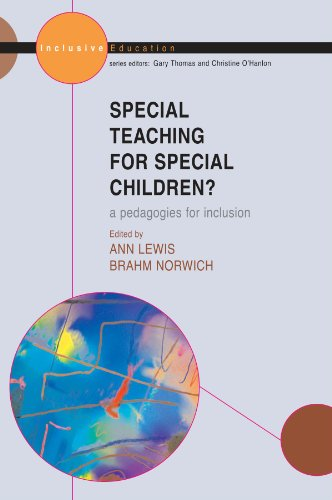 Special Teaching for Special Children: A Pedagogy for Inclusion? (Inclusive Education)