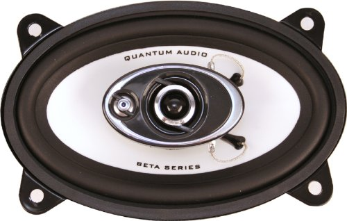 Quantum Qb463 Beta Series 4 X 6 Inch 3-Way Speaker