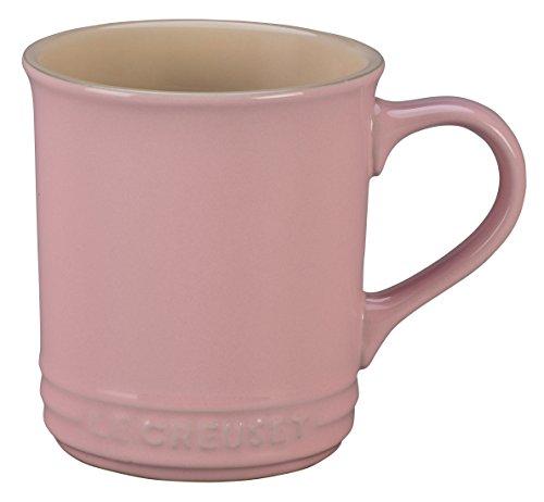 Le Creuset of America Stoneware Mug, 12-Ounce, Hibiscus