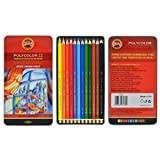 Koh-i-noor Polycolor 12 Artists' Colored Pencils. 3822