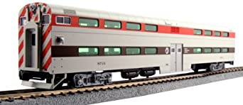 kato usa model train products pullman chicago rta 8716 bi level 4 window cab coach. Black Bedroom Furniture Sets. Home Design Ideas