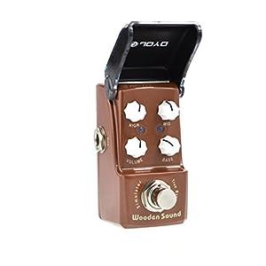 Joyo JF-323 Wooden Sound Acoustic Simulator Electric Guitar Single Effect by Joyo Audio