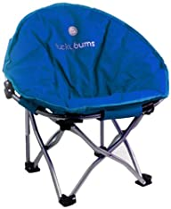 Lucky Bums Moon Camp Indoor Outdoor Comfort Lightweight Durable Chair with Carrying Case
