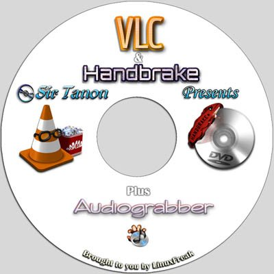 VLC Media Player - Plays DVD, CD, MP3, Almost All Media Files. Includes Handbrake DVD Ripping Software.