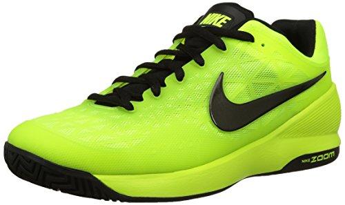 Nike - Zoom Cage 2, Scarpe Da Tennis da uomo, giallo (volt/black 700), 44.5
